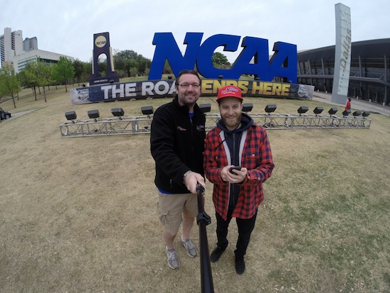 Final Four North Texas producer Wade Smith and director Rory Owen Delaney